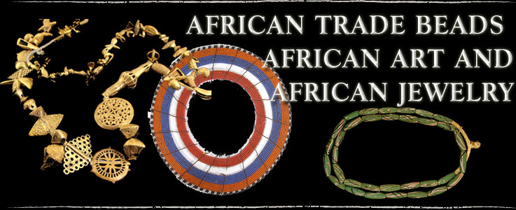 African Trade Beads, Art and Jewelry