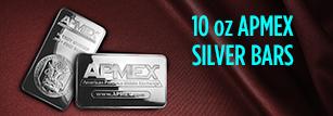 1oz APMEX Silver Bars
