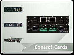 Control Cards