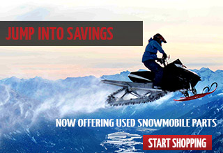 Now Offering Used Snowmobile Parts