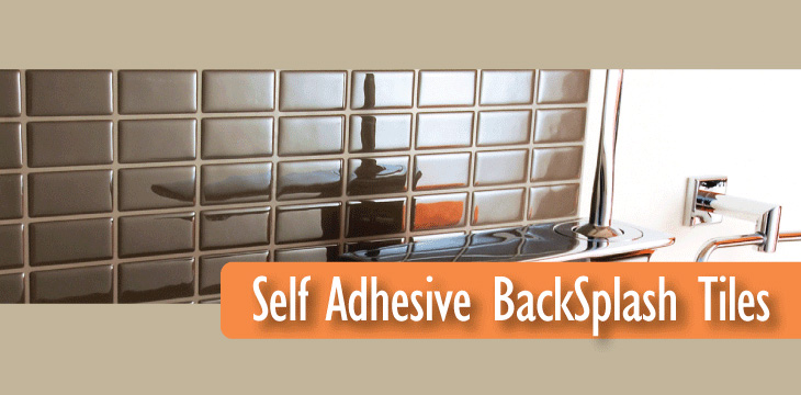 Self adhesive backsplash tiles related keywords self for Self adhesive subway tile backsplash