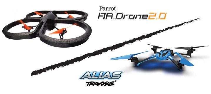Parrot AR Drone, Traxxas Alias