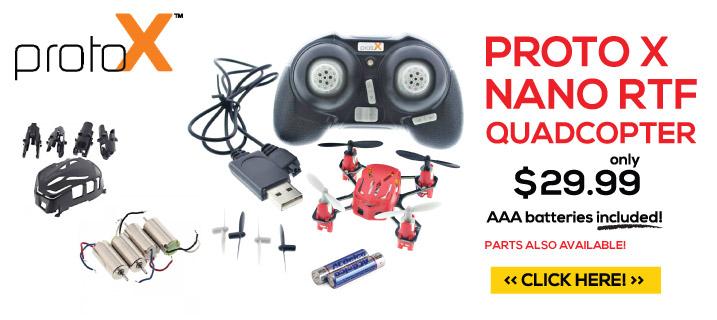 Proto X Nano RTF Quadcopter