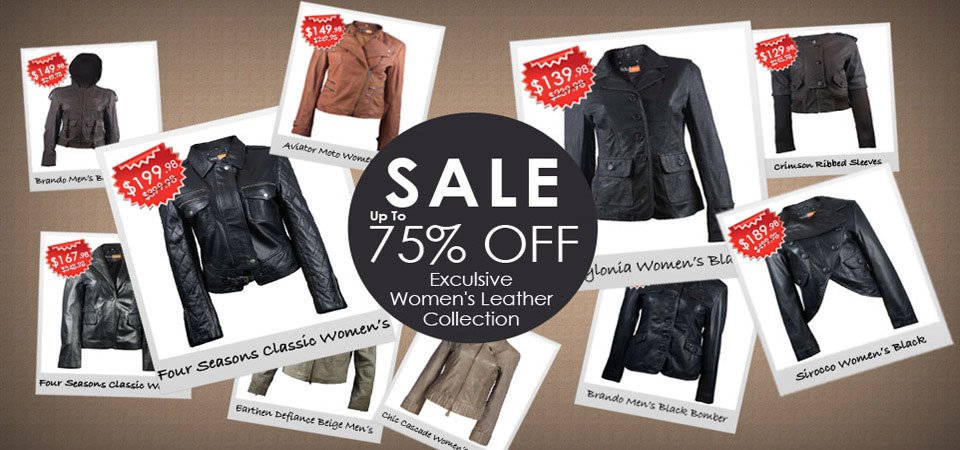 Sale - Exclusive Womens Leather Collection