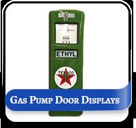 Gas Pump Door Displays