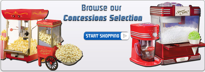 Browse our Concessions Selection