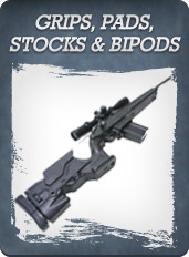 Grips, Pads, Stocks & Bipods