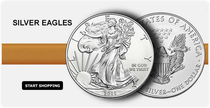 Silver Eagles - Start Shopping