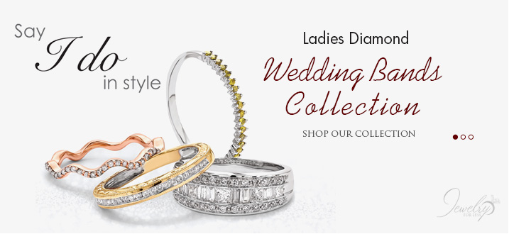 Shop Ladies Diamond Wedding Bands