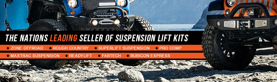 The Nations Leading Supplier of Suspension Lift Kits