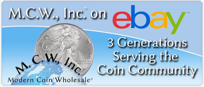 Modern Coin Wholesale on eBay
