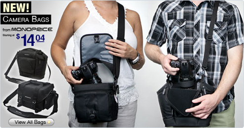 New Camera Bags