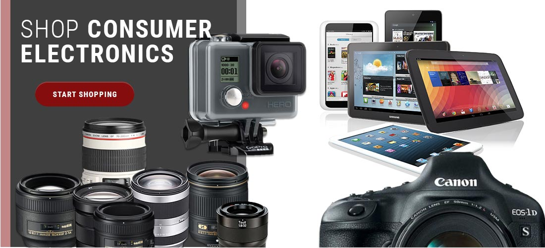 Consumer Electronics - Start Shopping