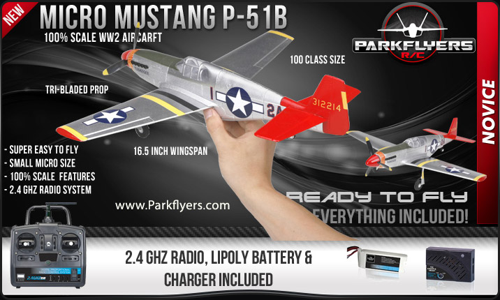 Micro Mustang P51-B