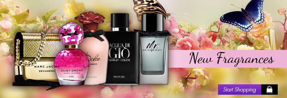 New Fragrances - Start Shopping