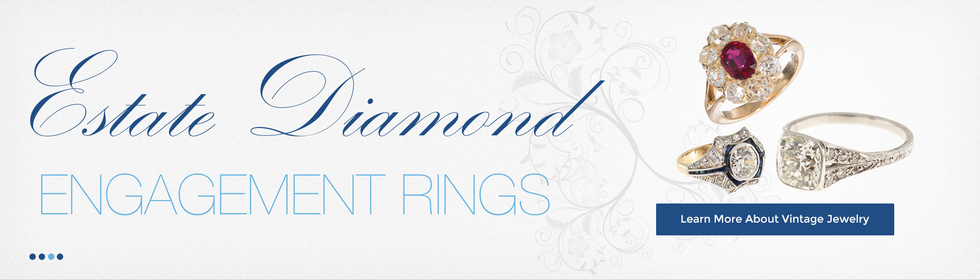 Estate Diamond Engagement Rings