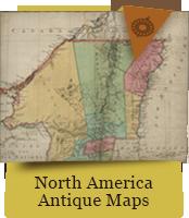 North America Antique Maps
