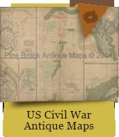 US Civil War Antique Maps
