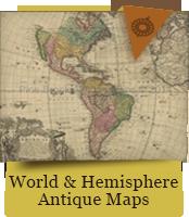 World & Hemisphere Antique Maps