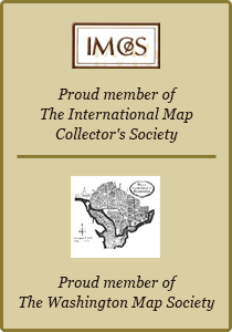 Proud Member of The International Map Collectors Society and The Washington Map Society