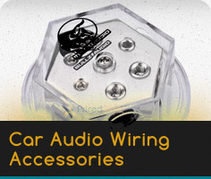 Car Audio Wiring Accessories