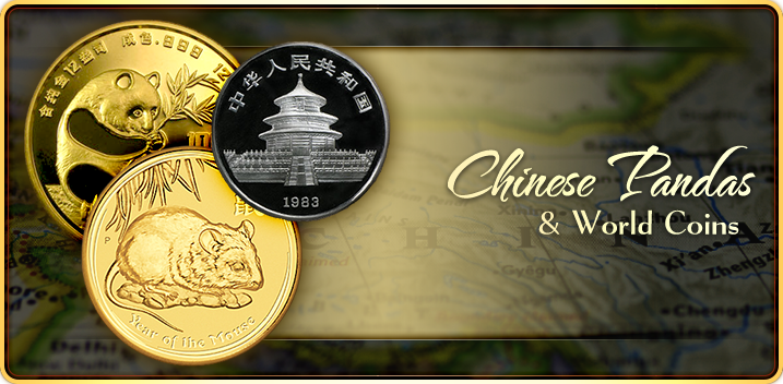 Chinese Pandas & World Coins