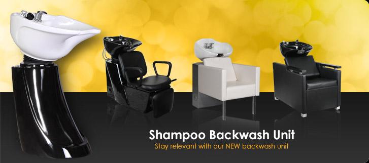 Shampoo Backwash Unit