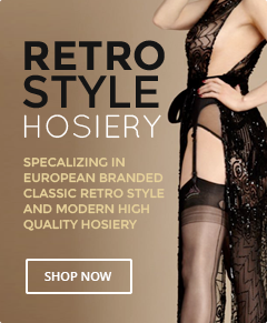 Retro Style Hosiery - Shop Now