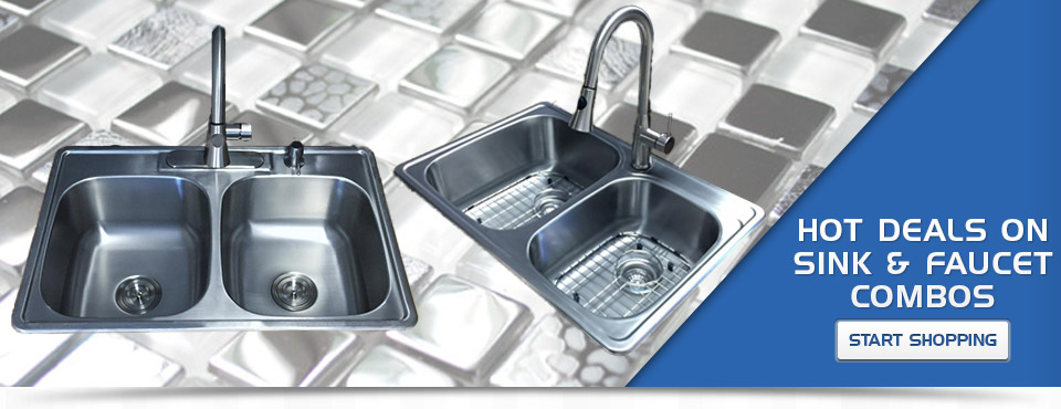Sink and Faucet Combos - Start Shopping