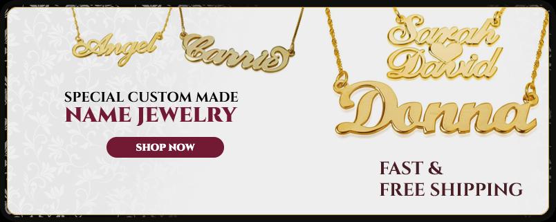 Custom Name Jewelry