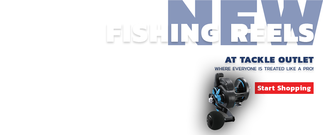 Fishing Reels - Start Shopping