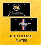 Click to Shop Auto License Plates