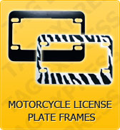 Click to Shop Motorcycle License Plate Frames