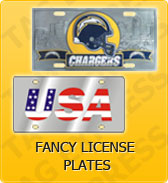 Click to Shop Fancy License Plates