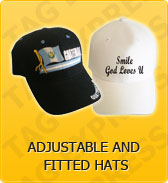 Click to Shop Adjustable and Fitted Hats