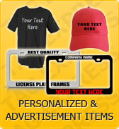 Click to Shop Personalized & Advertisement Items