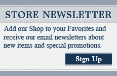 Sign Up for Our Store Newsletter