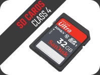 SD Cards Class 4