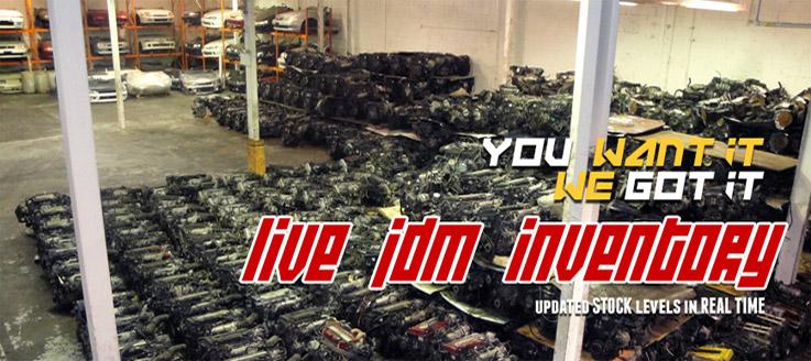 Live JDM Inventory