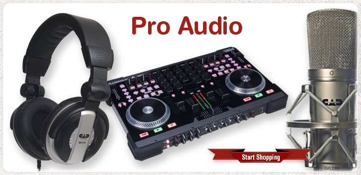 Pro Audio - Start Shopping