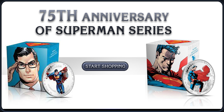 75th Anniversary of Superman Series