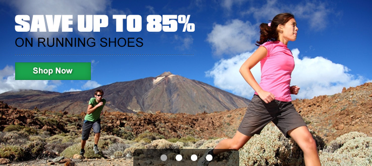 Save up to 85% on Running Shoes