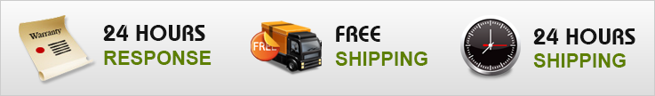 24 Hours Free Shipping and Response