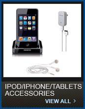 Click to Shop iPod/iPhone/Tablets Accessories