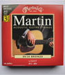 3x Martin Acoustic Guitar Strings 12-54 80/20 Bronze