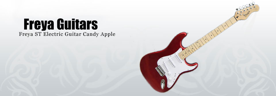 Freya S-Caster - Freya ST Electric Guitar Candy Apple
