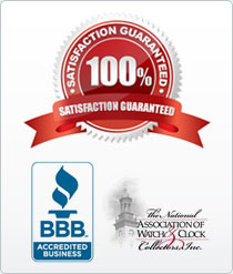 Satisfaction Guaranteed, BBB, Assoc. Watch/Clock