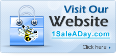Visit our website 1SaleADay.com