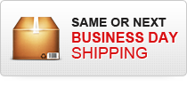 Same or Next Business Day Shipping