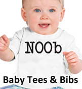Click to Shop Baby Tees & Bibs